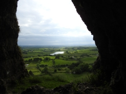 View from out of Cormac's Cave