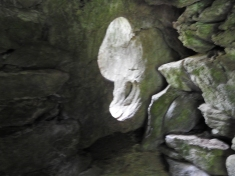 window in Druids Cave