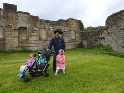 Inside the Downhill Demesne ruins