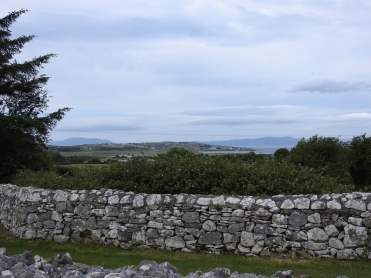 View from Creevykeel Court Tomb