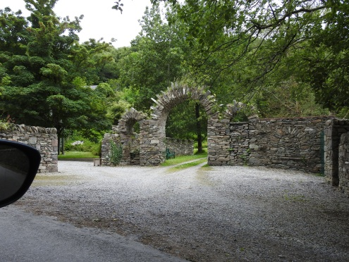 Beautiful Stone Walls and Gate