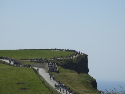 People at The Cliffs of Moher