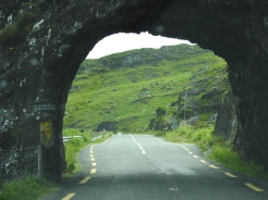 Leaving the Ring of Kerry into Cork
