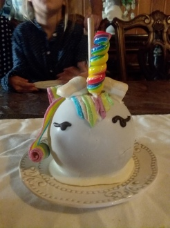 Unicorn Candy Apple