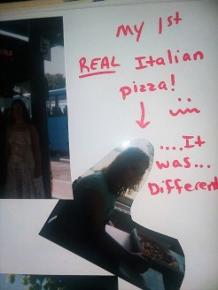 Pizza. With no such thing as Pepporoni