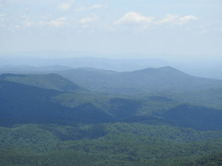 Mountain Views of North GA.